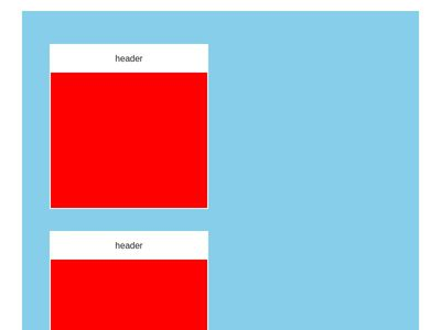 Grid layout box responsive