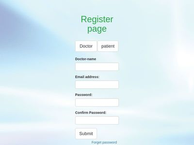 register page and login page together fully responsive