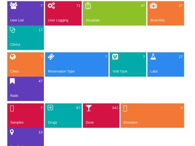 Bootstrap Snippet Responsive Metro Dashboard using HTML CSS