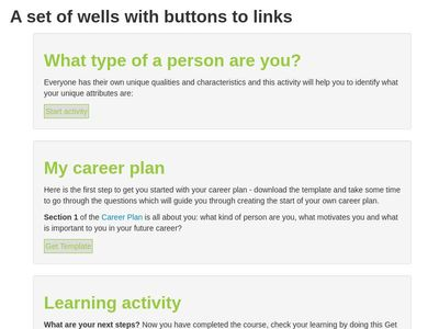 Wells with Buttons - Moodle 3.3.3