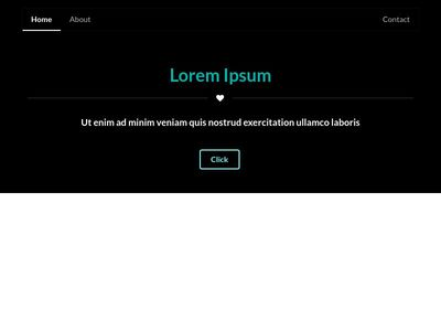 Header Style with Background Color - Semantic UI