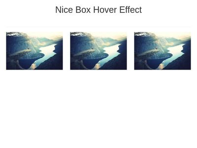 Nice Hover Effect