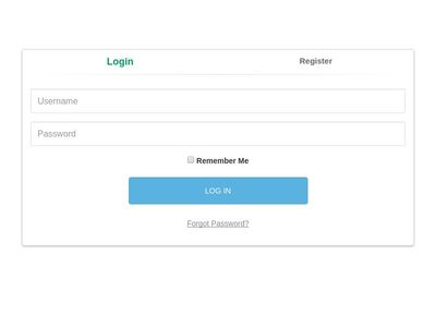 Login with registration
