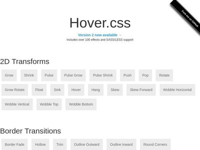 Bootstrap Snippet hover css using HTML