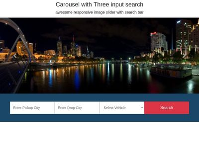 Carousel with Search