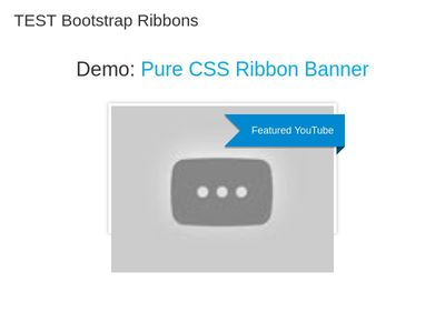 TEST Bootstrap Ribbons