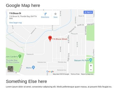 Embedding Google Maps