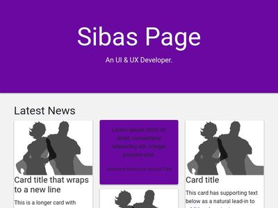 bootstrap 4 card layout